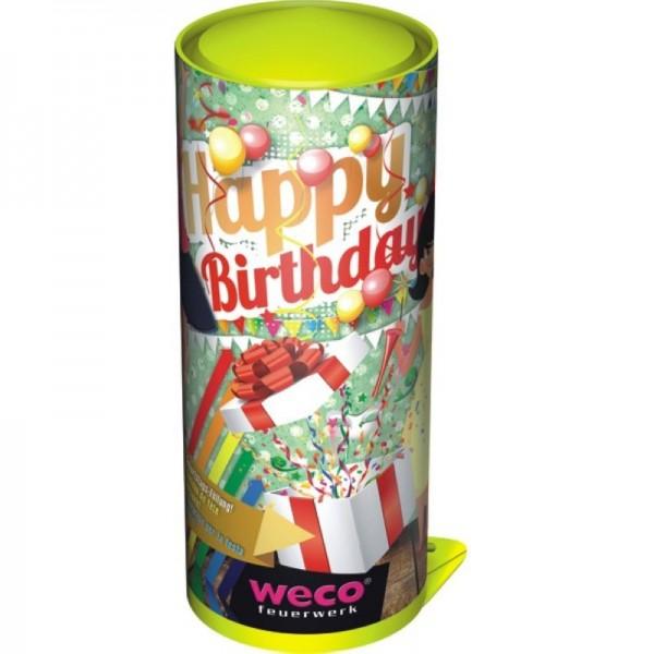 Tischbombe Happy Birthday 26cm