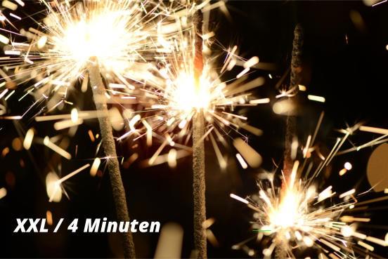 Wunderkerze XXL 4 Minuten - 3 Stück