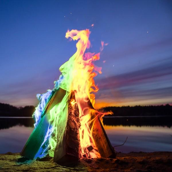 Magic Fire - farbige Flammen