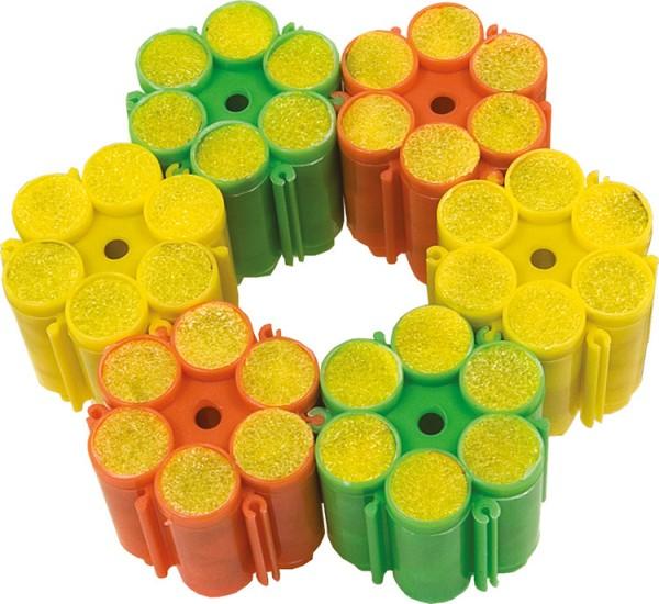 Ersatz Munition für Konfettipistole mit 6 Trommeln