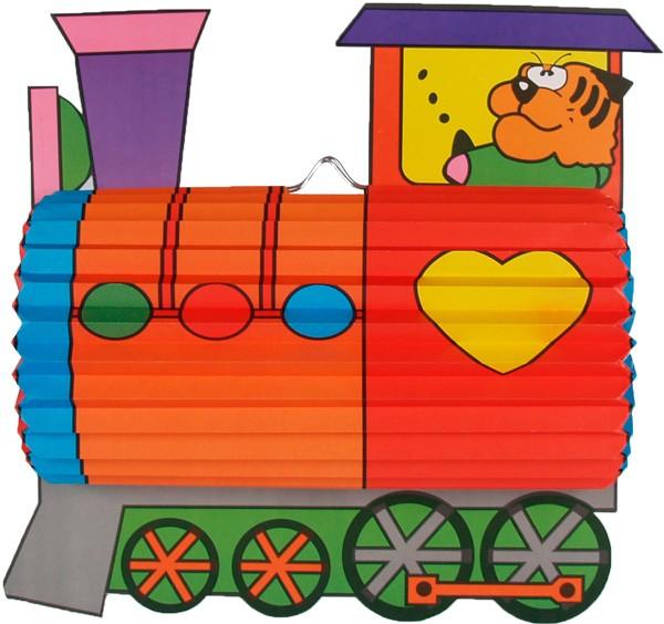 Lampion Lokomotive