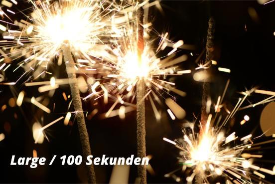 Wunderkerze Large 100 Sekunden - 10 Stück