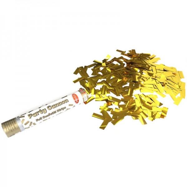 Premium Konfettikanone in Gold
