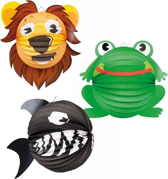 Lampion Löwe, Hai, Frosch
